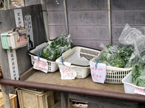 無人野菜直売所